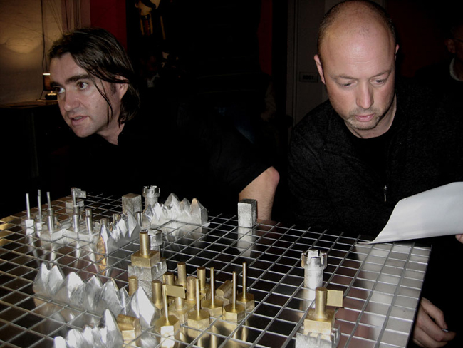 Alex Veness and Rod Dickinson