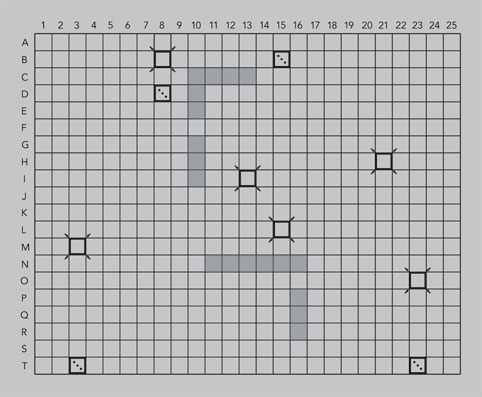 Figure 1: Game Board
